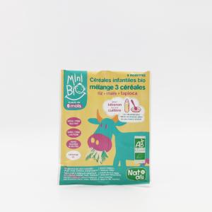 Céréales infantiles bio 3 céréales