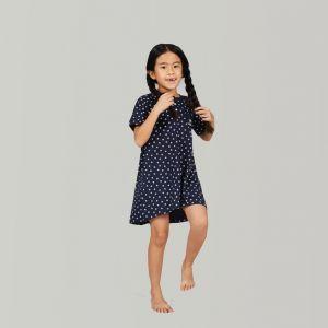 Chemise de nuit enfant Good Morning en coton pour fille