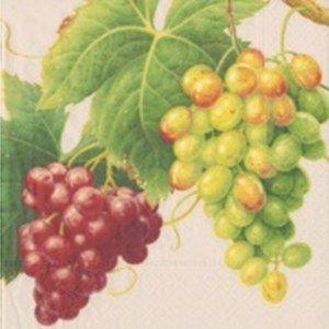 Serviettes Parchment Vineyard