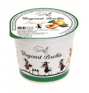 Yogourt au lait de brebis - Abricot