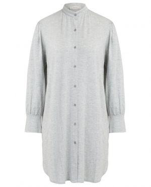 Chemise de nuit boutonnée en modal Ceani