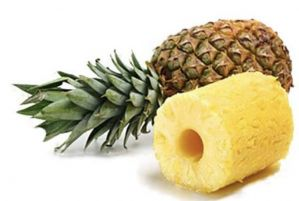 Ananas frais coupé