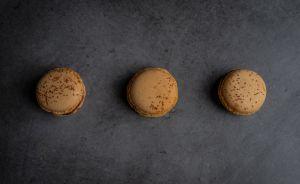 Boite de 10 macarons chocolat