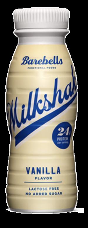 8 X Barebells Protein Milkshakes Vanilla 330ml