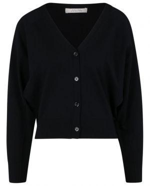 Cardigan boutonné à col V en coton Easy Comfort