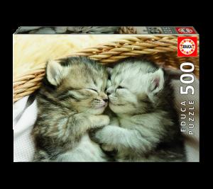 Puzzle 500 pcs - Les Chats Doux