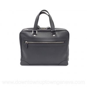 Louis Vuitton briefcase in anthracite grained leather