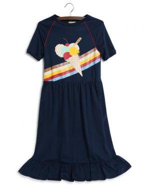 Robe T-shirt fille imprimée Gucci Ice