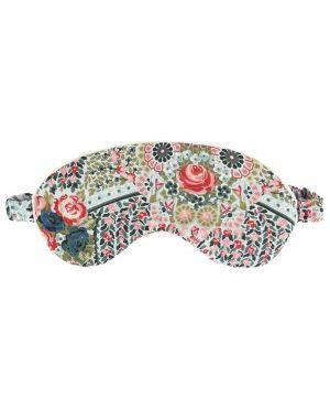 Masque de voyage en coton imprimé Seraphina