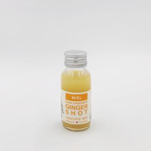 Shot de jus de gingembre au miel