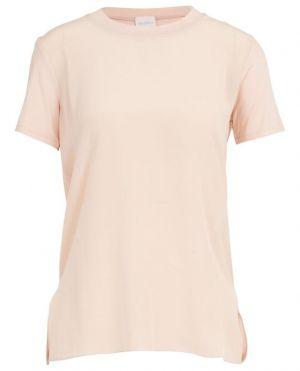 T-shirt en soie et viscose Gene