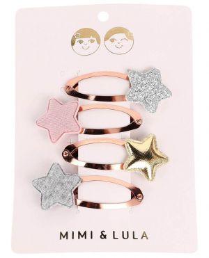 Set de 4 barrettes étoile Tokyo Star