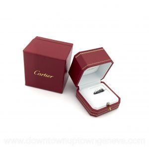 Cartier Love ring 2 set in white gold & ceramic