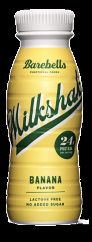 8 X Barebells Protein Milkshakes Banana 330ml