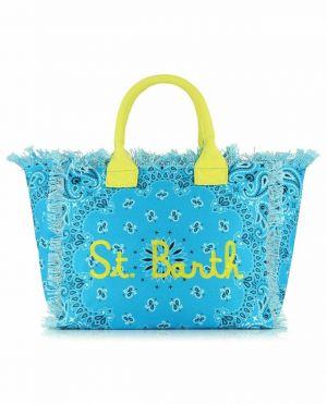 Grand sac cabas en toile imprimé bandana Vanity
