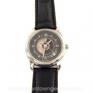 Perrelet watch double rotor in white gold