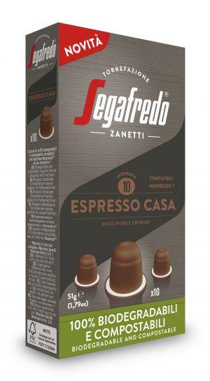 Classiques Casa - boîte de 10 capsules - Capsules compatibles Nespresso*