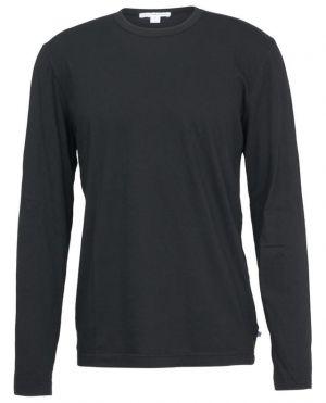 T-shirt à col rond et manches longues