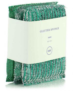 Set de trois éponges grattantes Glitter Sponge