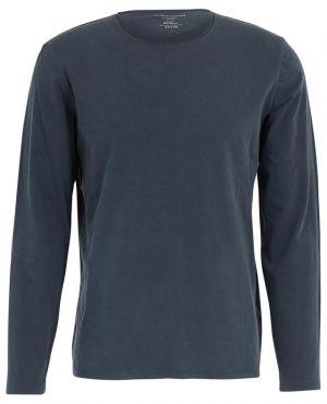 T-shirt manches longues en jersey Marine