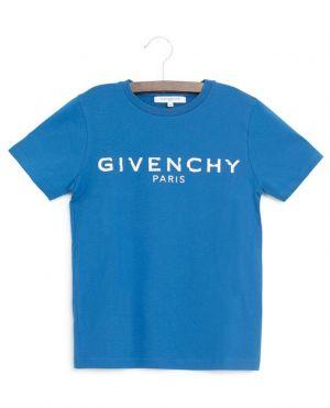 T-shirt en jersey imprimé logo vieilli