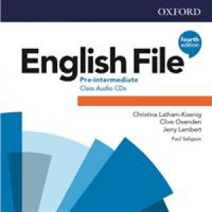 English File Pre-intermediate Class CDs de  Collectif
