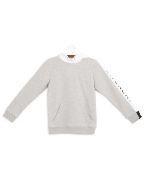 Sweat-shirt logo manche Givenchy