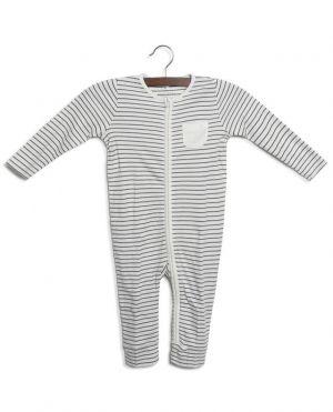 Pyjama bébé zippé en jersey
