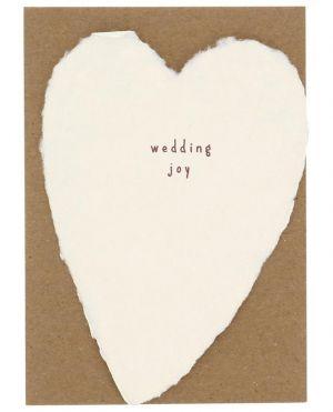 Coeur en papier Wedding Joy