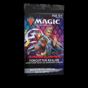 Mtg Booster d'extension FR - DandD Royaumes oubliés