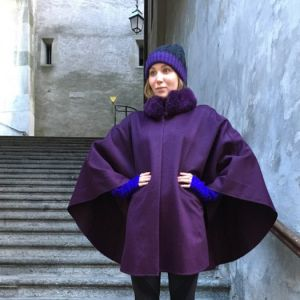 Luxury Cape Vioilette