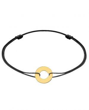 Bracelet cordon Cible or jaune