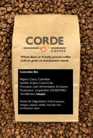Colombie Bio Corde Coffee