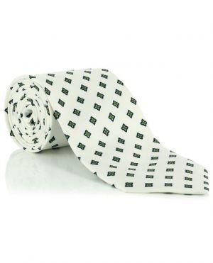 Cravate en soie imprimée fleurs