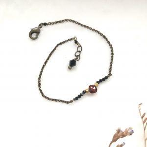 Bracelet spinelles et grenat