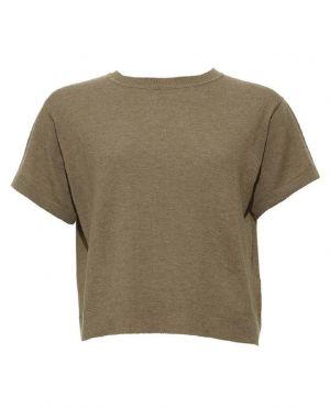 T-shirt court en cachemire Suite