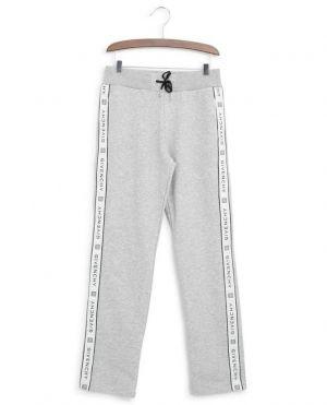 Pantalon de jogging droit bande logo