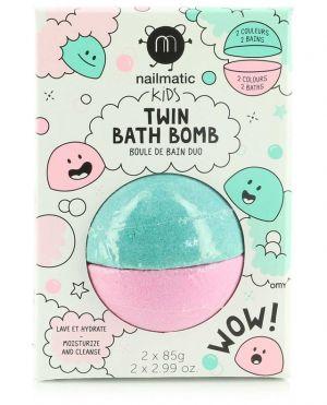 Boule de bain duo enfant Twin Bath Bomb