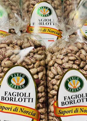 Haricots «borlotti» secs