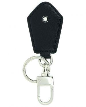 Porte-clés en cuir saffiano Sartorial