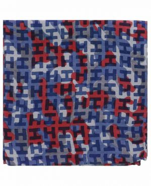 Pochette en sergé imprimé camouflage Ibenmini-S