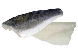 Filets de Loup de Mer Avec Peau 120/160 Grs Turquie