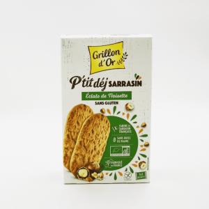 Biscuits au sarrasin et aux noisettes