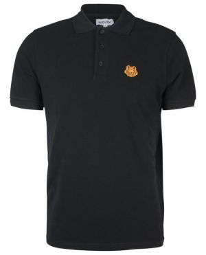Polo à manches courtes en coton bio Tiger Crest