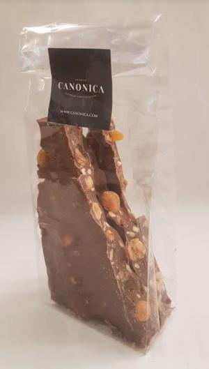 Chocolat Cassé Lait Noisette Amande Abricot
