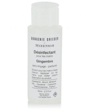 Désinfectant pour les mains parfumé Gingembre - 60 ml
