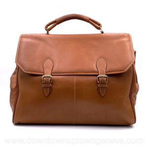Jaeger-Lecoultre vintage bag in tan leather