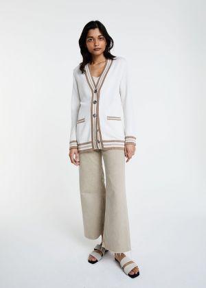 Cardigan Iris en soie et coton