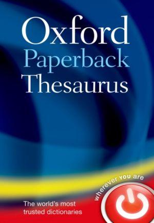 Oxford Paperback Thesaurus de  Oxford Languages