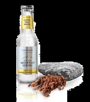 24 X SWISS MOUNTAIN SPRING CLASSIC TONIC WATER Bottle 200ml